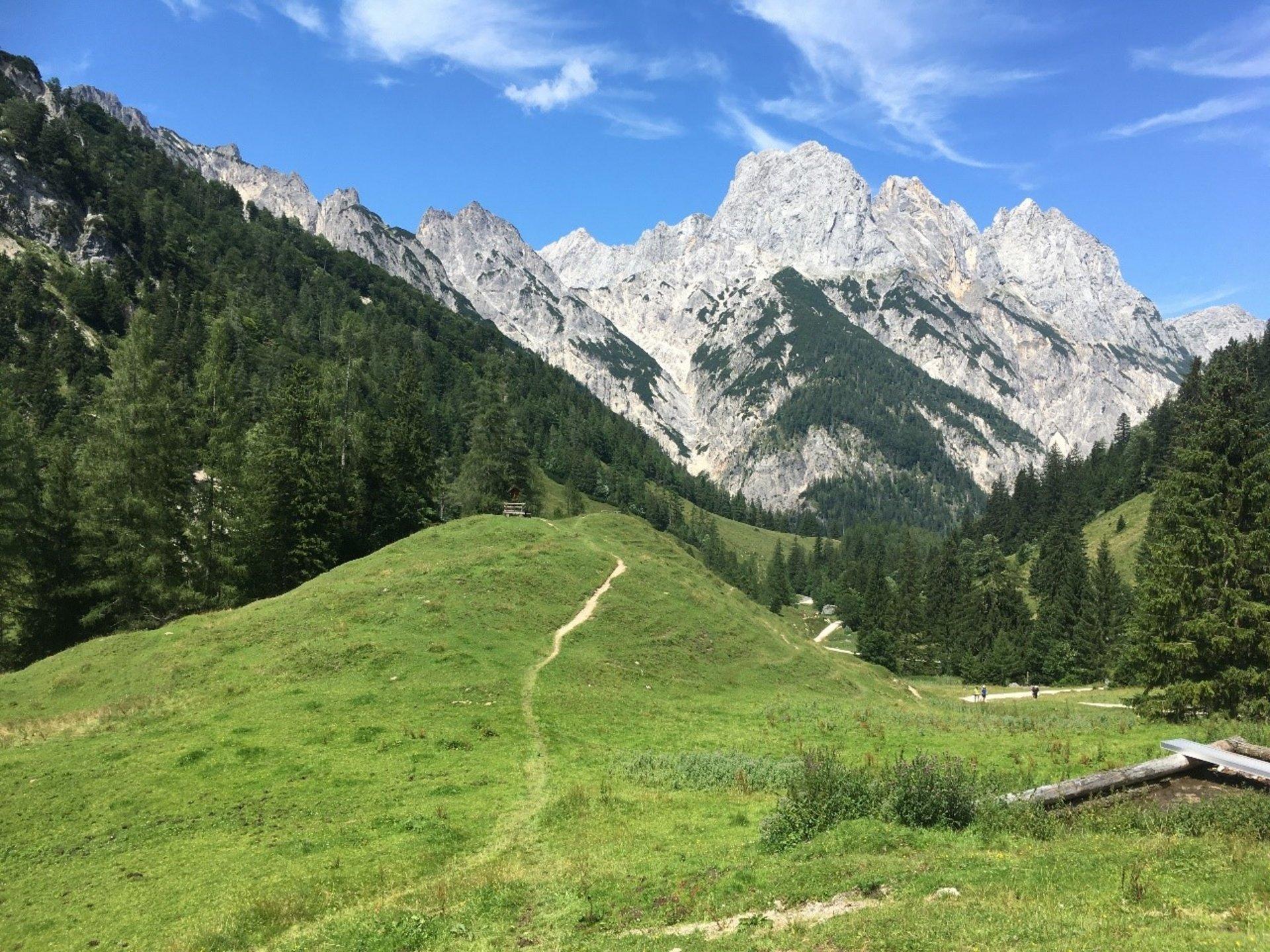 Blick in ein beeindruckendes Alpen-Panorama