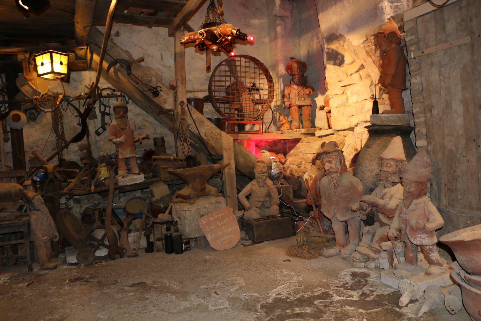 Blick in eine Töpferwerkstatt