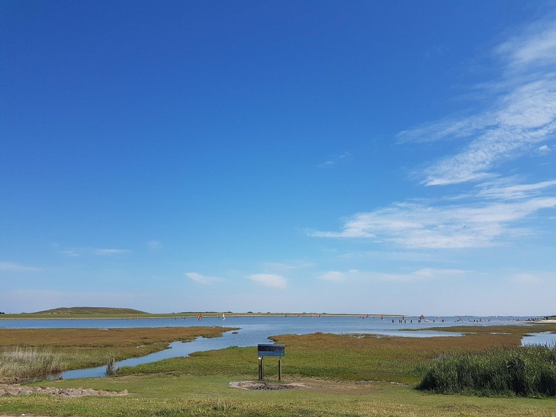 Blauer Himmel Norderney